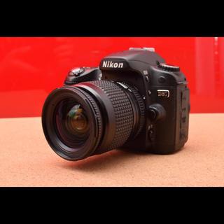 ニコン(Nikon)のNikon ニコン D80 レンズキット!Wi-Fi機能SDカード付 10-29(デジタル一眼)