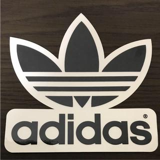 アディダス(adidas)の【縦15.8cm横15.7cm】adidas skateboardステッカー(ステッカー)