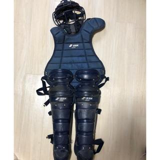 エスエスケイ(SSK)の軟式野球 キャッチャー防具(防具)
