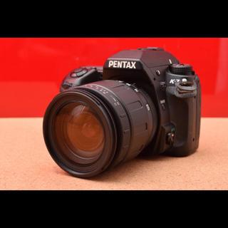 ペンタックス(PENTAX)のPENTAX  K-7 レンズキット!Wi-Fi機能付SDカード 10-29(デジタル一眼)