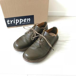 トリッペン(trippen)のトリッペン   trippen 35 カーキ Kit 秋冬  革靴(ローファー/革靴)