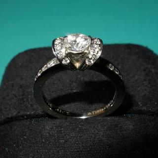 ティファニー(Tiffany & Co.)のティファニー  リボンリング  (リング(指輪))