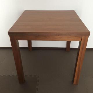 ウニコ(unico)のunico VIVO エクステンションテーブル ウォールナット(ダイニングテーブル)