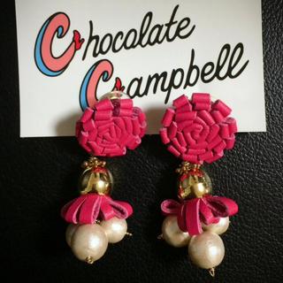 チョコレートキャンベル(Chocolate Campbell)の《Chocolate Campbell》ピアス♡(ピアス)