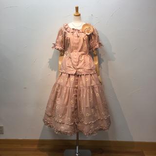 ピンクハウス(PINK HOUSE)のピンクハウス  ブラウス&スカートセットです。(セット/コーデ)
