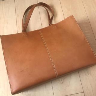 ツチヤカバンセイゾウジョ(土屋鞄製造所)の土屋鞄 ナチューラ ヌメ トート Lサイズ 終売品(トートバッグ)