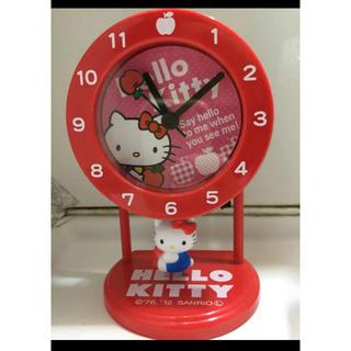 ハローキティ(ハローキティ)のキティちゃん時計(置時計)