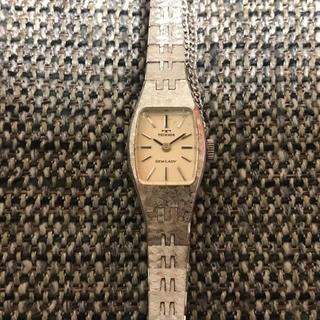 テクノス(TECHNOS)のテクノス ヴィンテージ 手巻き 腕時計 ブレス ウォッチ 作動品(腕時計)