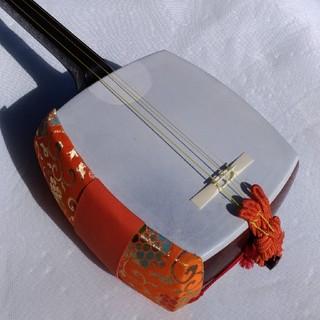 紅木 中棹 短棹 三味線(東さわり)(三味線)