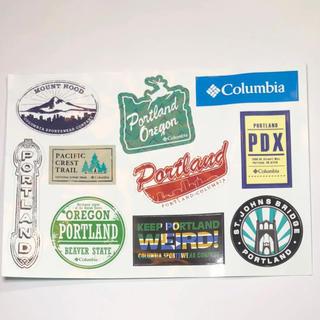 コロンビア(Columbia)の[激レア]Columbia Portland sticker(アウトドアテーブル)