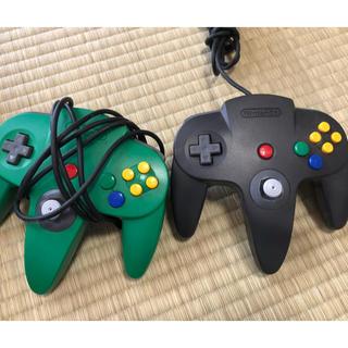 任天堂64コントローラー 2個
