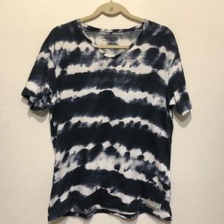 ラルフローレン 半袖Tシャツ 藍染め風