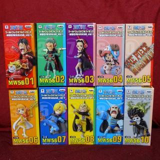 バンプレスト(BANPRESTO)の新品 ワンピース ワーコレ -MUGIWARA 56- vol.1・2(アニメ/ゲーム)