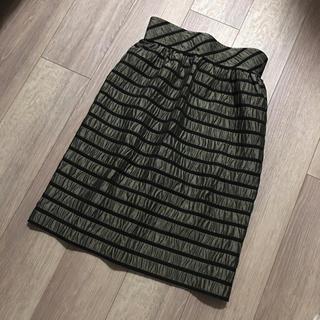 イランイラン(YLANG YLANG)のYLANG YLANG イランイラン スカート S ボーダースカート (ひざ丈スカート)
