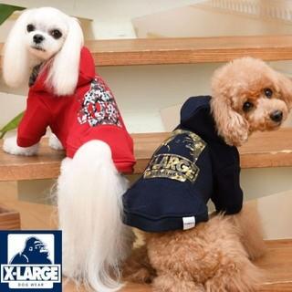 エクストララージ(XLARGE)の新品★Mサイズ★ネイビー犬服 Xlarge エクストララージ(犬)