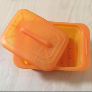 ウーノ(UNO)のviv Uno シリコンスチーマー オレンジ(調理道具/製菓道具)