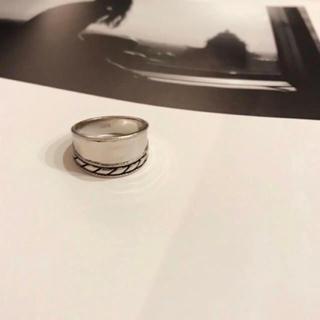 シルバー925 meroowデザインリング(リング(指輪))