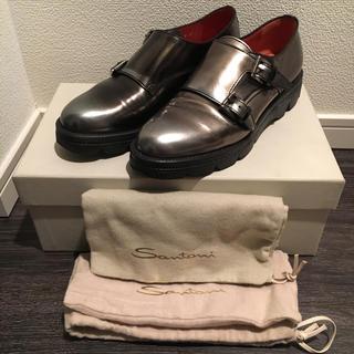 サントーニ(Santoni)のSantoni サントーニ/ダブルモンク◎大幅お値下げ(ローファー/革靴)