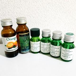 ムジルシリョウヒン(MUJI (無印良品))のエッセンシャルオイル♡6種(エッセンシャルオイル(精油))
