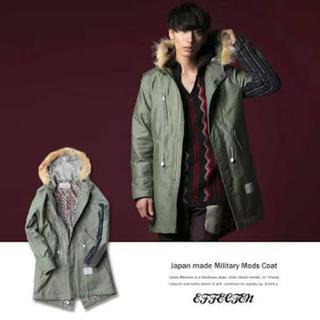 エム(M)のEFFECTEN(エフェクテン) Mod's coat'Stripes'(モッズコート)