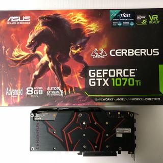 エイスース(ASUS)のASUS GEFORCE GTX1070ti CERBERUS (PCパーツ)