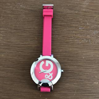 <美品>D&G 腕時計!