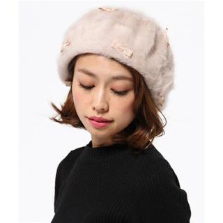 トッカ(TOCCA)の[新品タグ付き]TOCCAトッカ アンゴラベレー帽(ハンチング/ベレー帽)