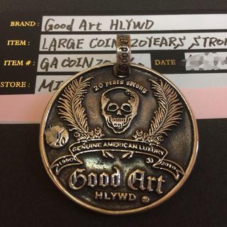 グッドアートハリウッド(GOOD ART HLYWD)の超希少品!世界20枚限定品 GOOD Art HLYWD 20周年記念メダル  (ネックレス)