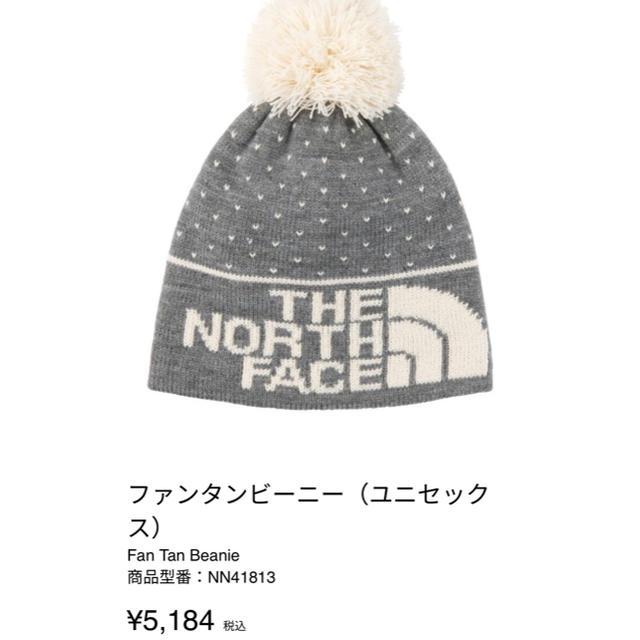 THE NORTH FACE(ザノースフェイス)のTHE NORTH FACE.ノースフェイス.ニット帽.ビーニー レディースの帽子(ニット帽/ビーニー)の商品写真