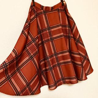 リズリサ(LIZ LISA)のチェックスカート(ロングスカート)
