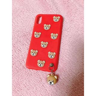 クマ 💓 iPhone X ケース(iPhoneケース)