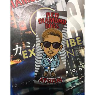 ダイアモンドドッグス(DIAMOND DOGS)のRED Diamond dogs ATSUSHI 千社札(ミュージシャン)