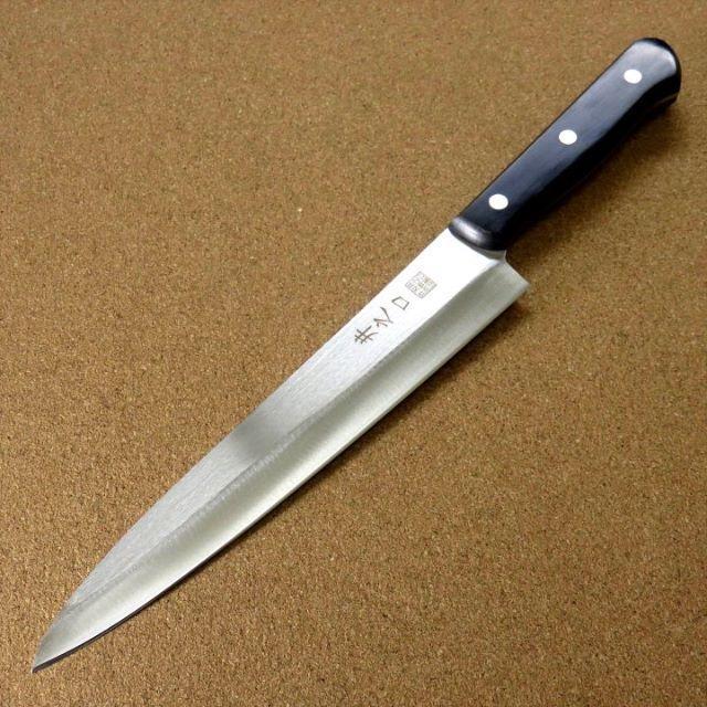 関の刃物 柳刃包丁 210mm クロム...