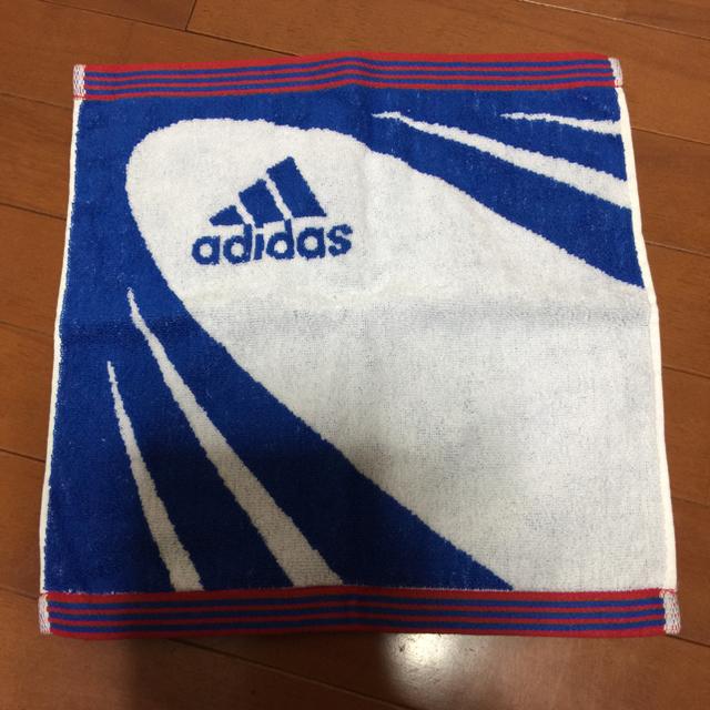 adidas(アディダス)のかっこ様専用     adidas タオル2枚セット インテリア/住まい/日用品の日用品/生活雑貨/旅行(タオル/バス用品)の商品写真