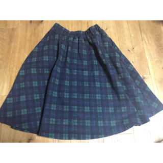 ウエストウッドアウトフィッターズ(Westwood Outfitters)のチェックスカート(ひざ丈スカート)