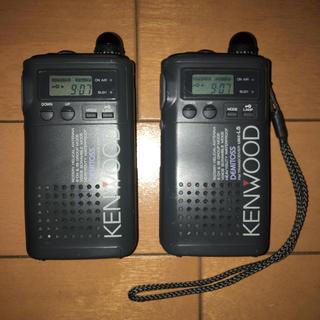 トランシーバー KENWOOD デミトス UBZ-L5 2台 完動品(アマチュア無線)