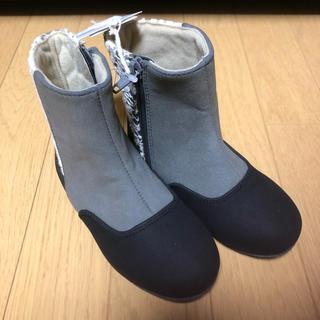 サニーランドスケープ(SunnyLandscape)の新品 サニーランドスケープ 16cm ブーツ 靴 シューズ 女の子 キッズ 子供(ブーツ)