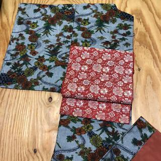 正絹。紬のお着物。(帯は別売り)(着物)