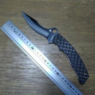 スパイダルコ(Spyderco)のSpyderco SzaboForder C146CF  ナイフ 折りたたみ(その他)