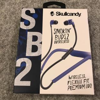スカルキャンディ(Skullcandy)のSkullcandy スカルキャンディー カナル型ワイヤレスイヤホン 新品(ヘッドフォン/イヤフォン)