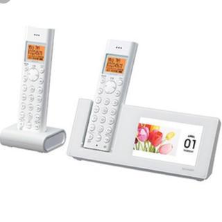 シャープ(SHARP)のシャープ コードレス電話機(電話台/ファックス台)