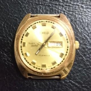 オリス(ORIS)の希少品  アンティーク  ORIS  オリス  twin date  ゴールド(腕時計(アナログ))