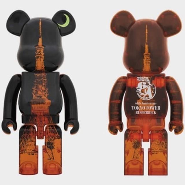 【送料込】東京タワー 1000% ベアブリック 当選品 新品   エンタメ/ホビーのおもちゃ/ぬいぐるみ(キャラクターグッズ)の商品写真