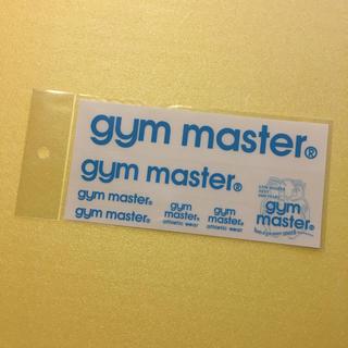 新品未使用‼️ gym master  ジムマスター ステッカー ♪サックス♪