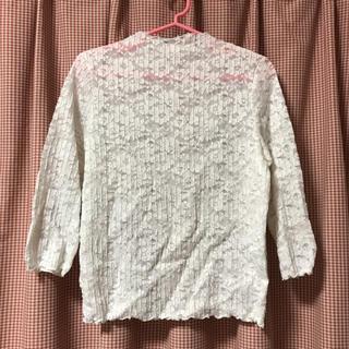 ジーユー(GU)のレースメローT(Tシャツ(長袖/七分))