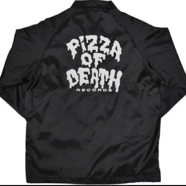 HIGH!STANDARD(ハイスタンダード)のピザオブデス PIZZA OF DEATH コーチジャケット M オマケ付き エンタメ/ホビーのタレントグッズ(ミュージシャン)の商品写真