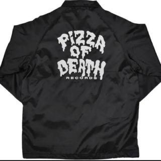 ハイスタンダード(HIGH!STANDARD)のピザオブデス PIZZA OF DEATH コーチジャケット M オマケ付き(ミュージシャン)