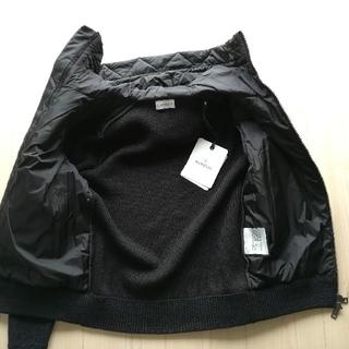 モンクレール(MONCLER)のメンズS 黒 袖ポケットパーカーブルゾン940280094789 モンクレール(ブルゾン)