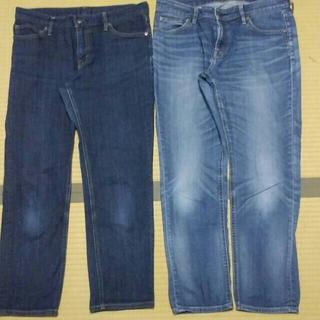 ムジルシリョウヒン(MUJI (無印良品))のジーンズ 2本セット(デニム/ジーンズ)