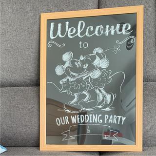 ディズニー(Disney)のウェルカムボード  ミッキー&ミニー値下げ!(ウェルカムボード)
